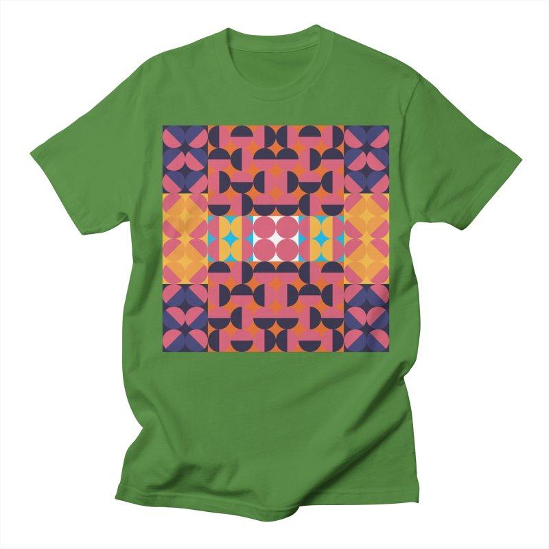 Geometric Design Series 4, Poster 7 Women's Regular Unisex T-Shirt by Madeleine Hettich Design & Illustration