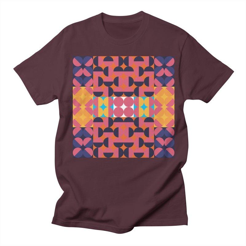 Geometric Design Series 4, Poster 7 Men's Regular T-Shirt by Madeleine Hettich Design & Illustration