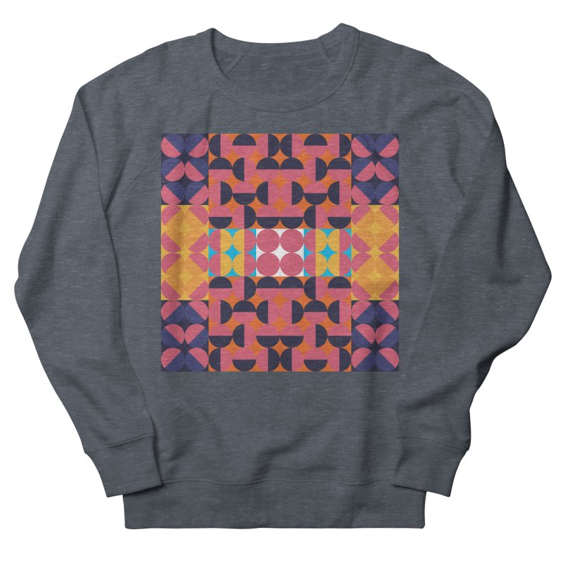 Geometric Design Series 4, Poster 7 Women's Sweatshirt by Madeleine Hettich Design & Illustration