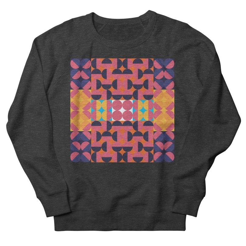 Geometric Design Series 4, Poster 7 Men's French Terry Sweatshirt by Madeleine Hettich Design & Illustration