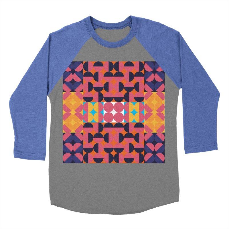 Geometric Design Series 4, Poster 7 Women's Baseball Triblend T-Shirt by Madeleine Hettich Design & Illustration