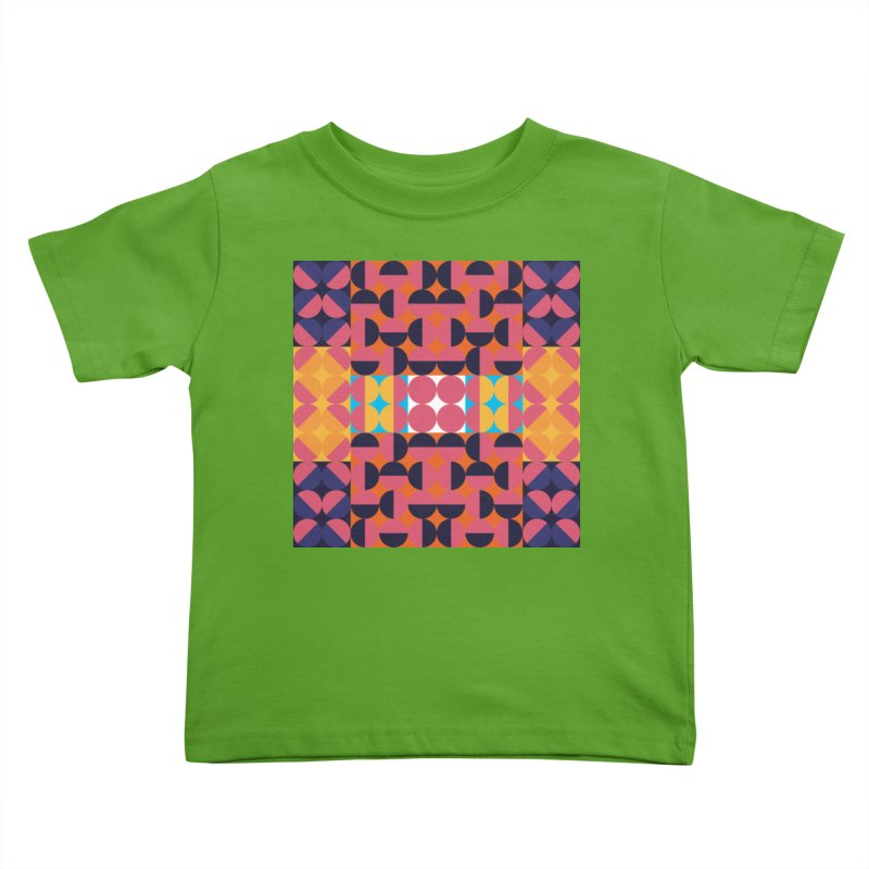 Geometric Design Series 4, Poster 7 Kids Toddler T-Shirt by Madeleine Hettich Design & Illustration