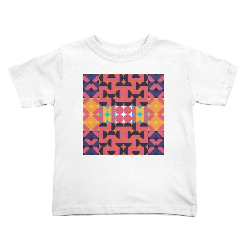 Geometric Design Series 4, Poster 7 Kids Toddler T-Shirt by Madeleine Hettich Design & Illustration