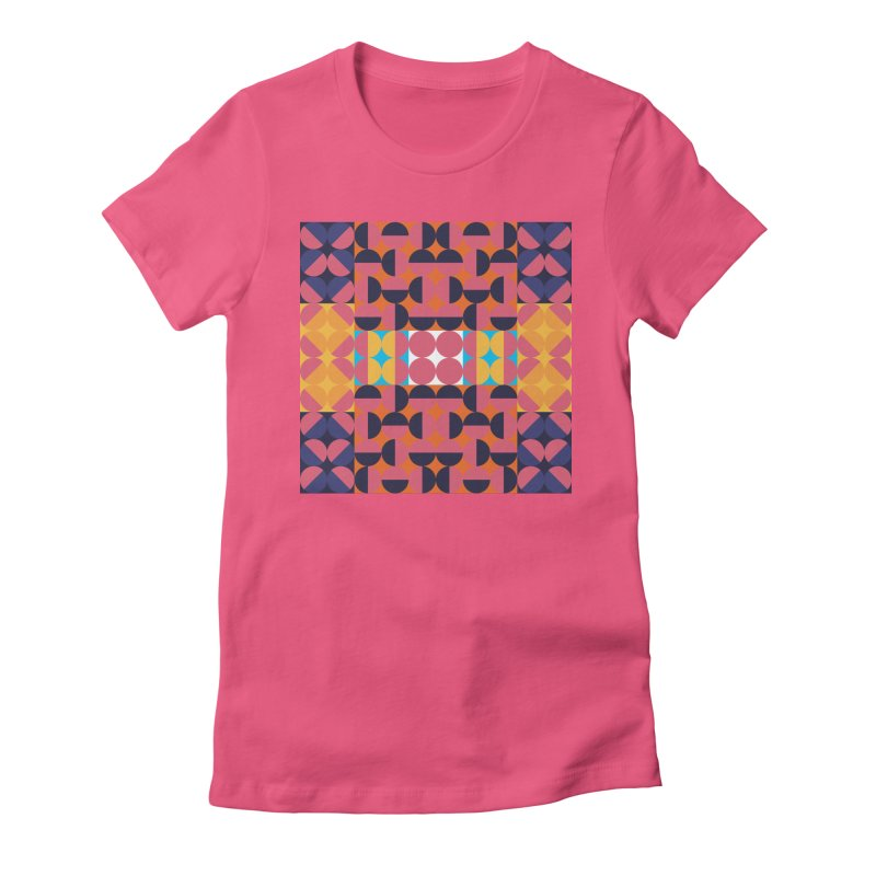 Geometric Design Series 4, Poster 7 Women's T-Shirt by Madeleine Hettich Design & Illustration