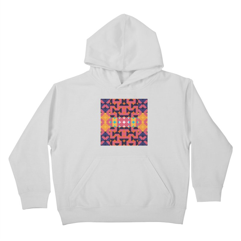 Geometric Design Series 4, Poster 7 Kids Pullover Hoody by Madeleine Hettich Design & Illustration