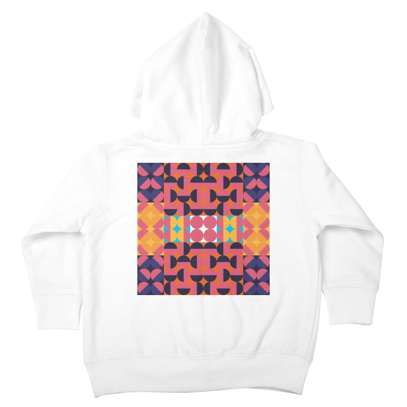 Geometric Design Series 4, Poster 7 Kids Toddler Zip-Up Hoody by Madeleine Hettich Design & Illustration