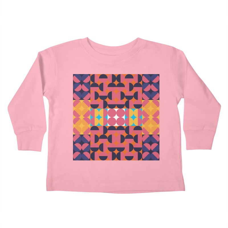 Geometric Design Series 4, Poster 7 Kids Toddler Longsleeve T-Shirt by Madeleine Hettich Design & Illustration