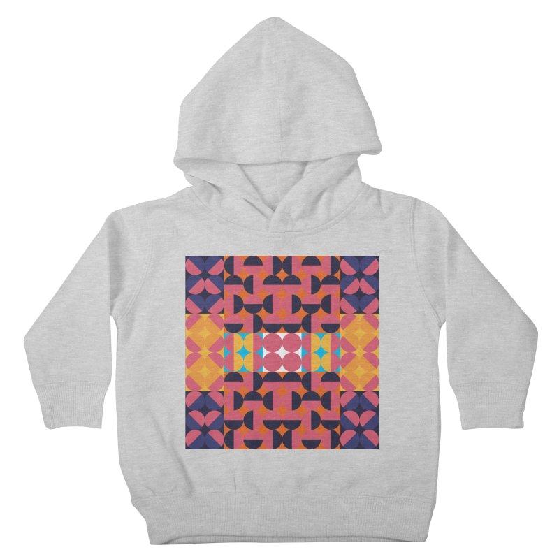 Geometric Design Series 4, Poster 7 Kids Toddler Pullover Hoody by Madeleine Hettich Design & Illustration