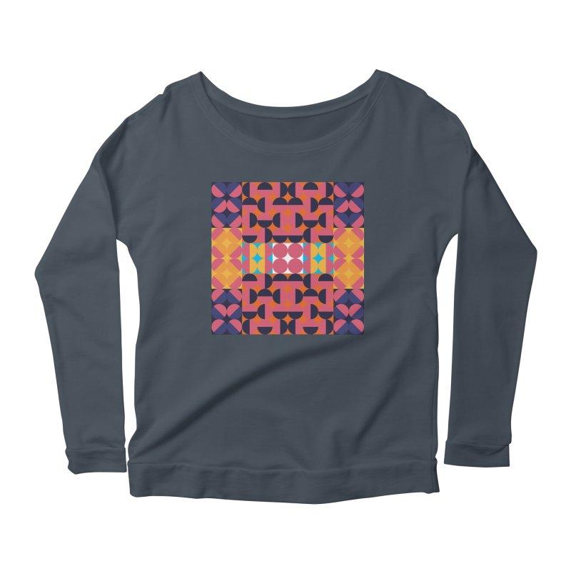 Geometric Design Series 4, Poster 7 Women's Longsleeve T-Shirt by Madeleine Hettich Design & Illustration