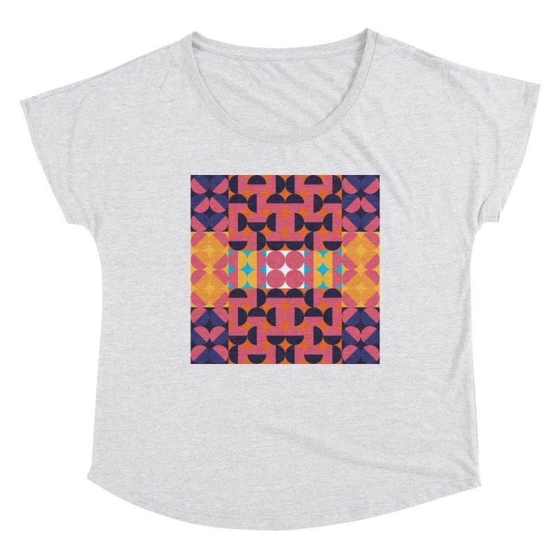 Geometric Design Series 4, Poster 7 Women's Scoop Neck by Madeleine Hettich Design & Illustration