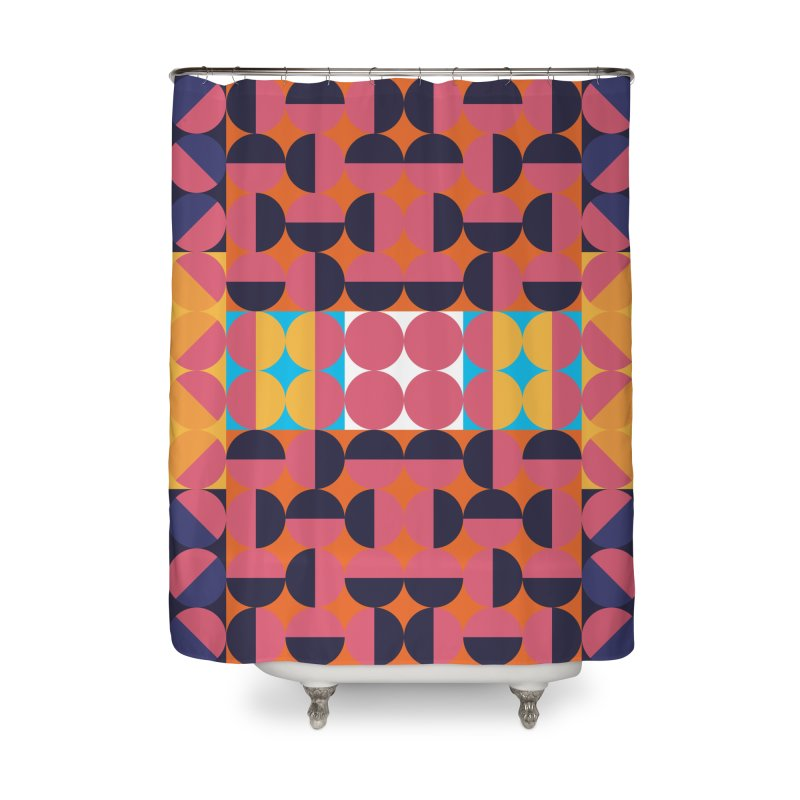 Geometric Design Series 4, Poster 7 Home Shower Curtain by Madeleine Hettich Design & Illustration