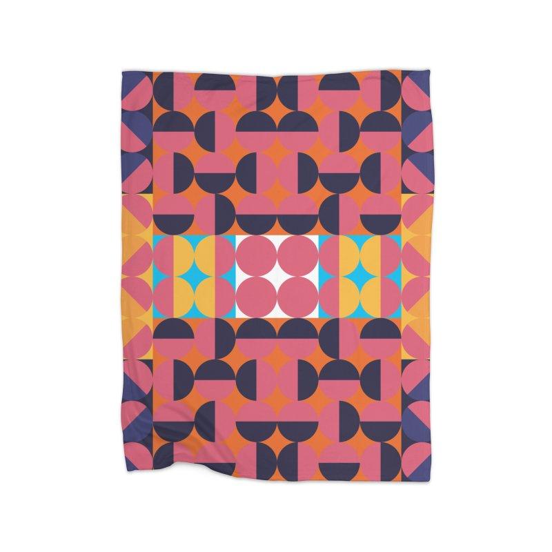 Geometric Design Series 4, Poster 7 Home Blanket by Madeleine Hettich Design & Illustration