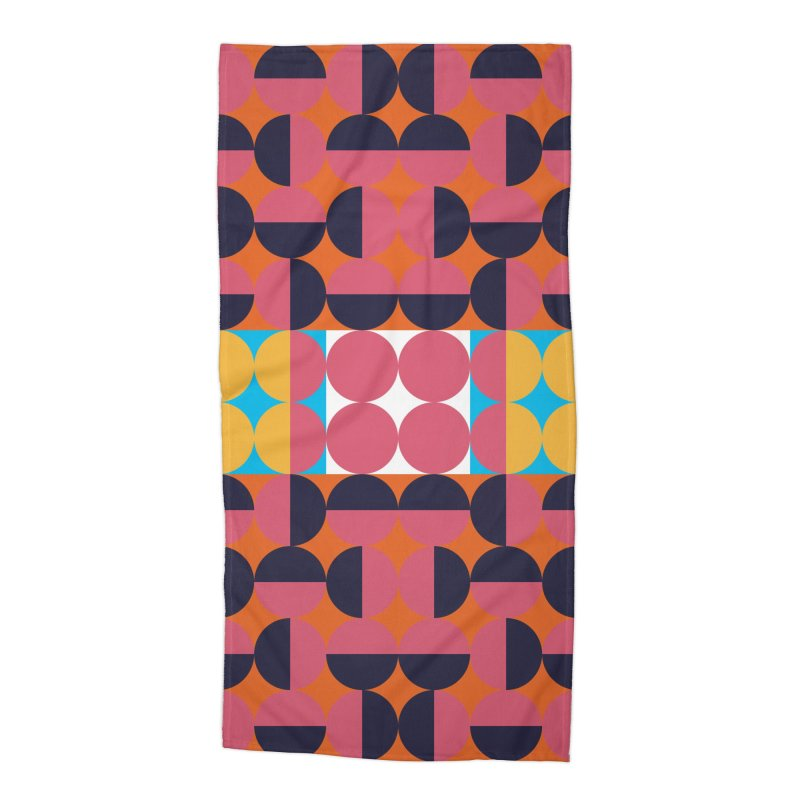 Geometric Design Series 4, Poster 7 Accessories Beach Towel by Madeleine Hettich Design & Illustration