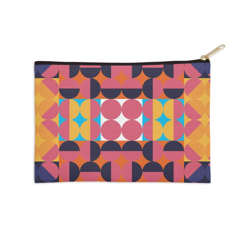 Geometric Design Series 4, Poster 7 Accessories Zip Pouch by Madeleine Hettich Design & Illustration