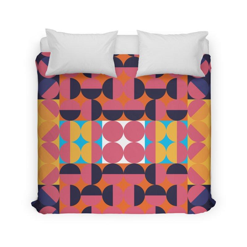 Geometric Design Series 4, Poster 7 Home Duvet by Madeleine Hettich Design & Illustration