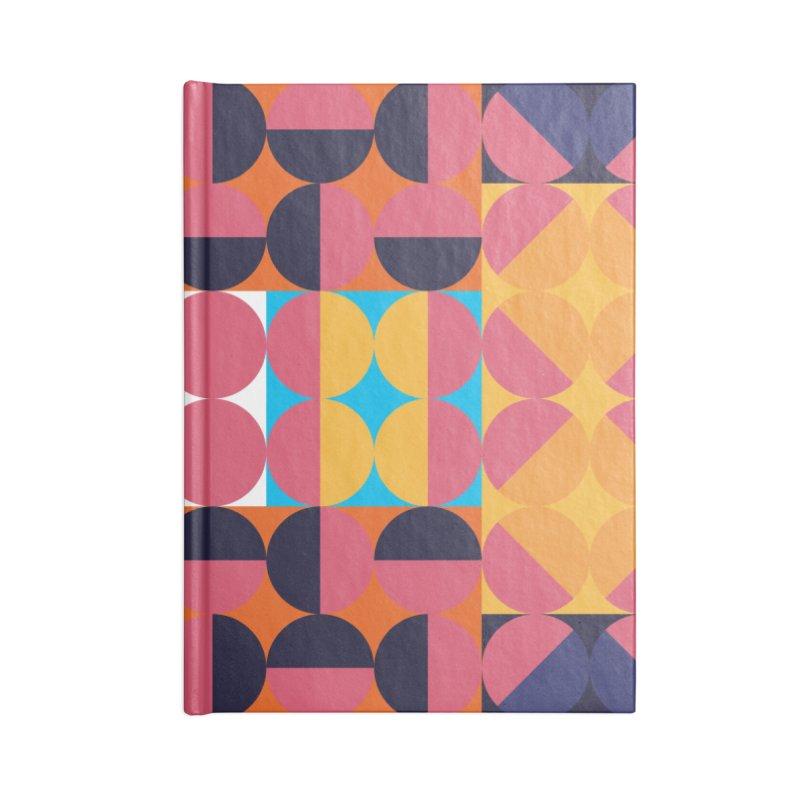 Geometric Design Series 4, Poster 7 Accessories Notebook by Madeleine Hettich Design & Illustration