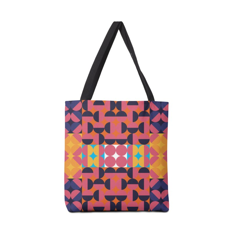 Geometric Design Series 4, Poster 7 Accessories Bag by Madeleine Hettich Design & Illustration