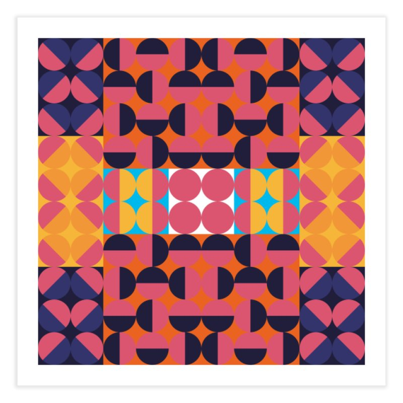 Geometric Design Series 4, Poster 7 Home Fine Art Print by Madeleine Hettich Design & Illustration