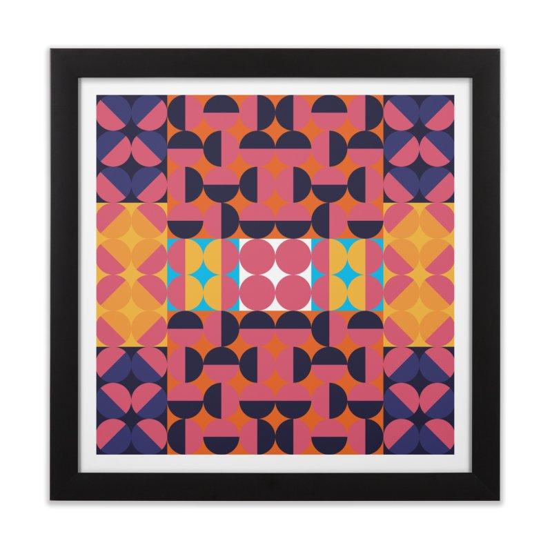 Geometric Design Series 4, Poster 7 Home Framed Fine Art Print by Madeleine Hettich Design & Illustration