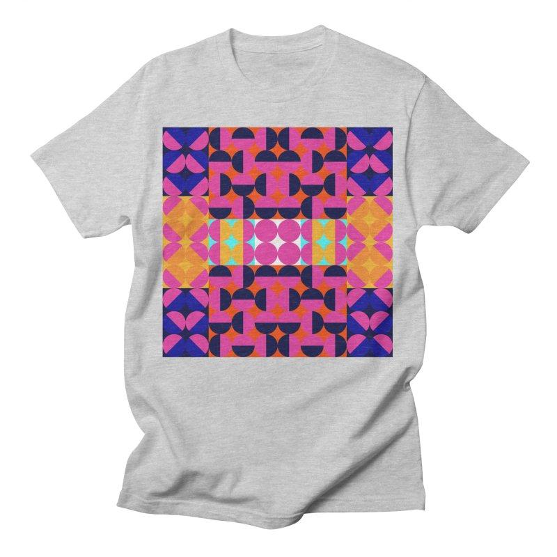 Geometric Design Series 4, Poster 7(Version 2) Men's T-Shirt by Madeleine Hettich Design & Illustration