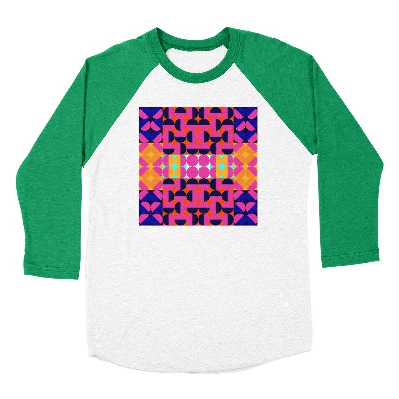 Geometric Design Series 4, Poster 7(Version 2) Women's Longsleeve T-Shirt by Madeleine Hettich Design & Illustration