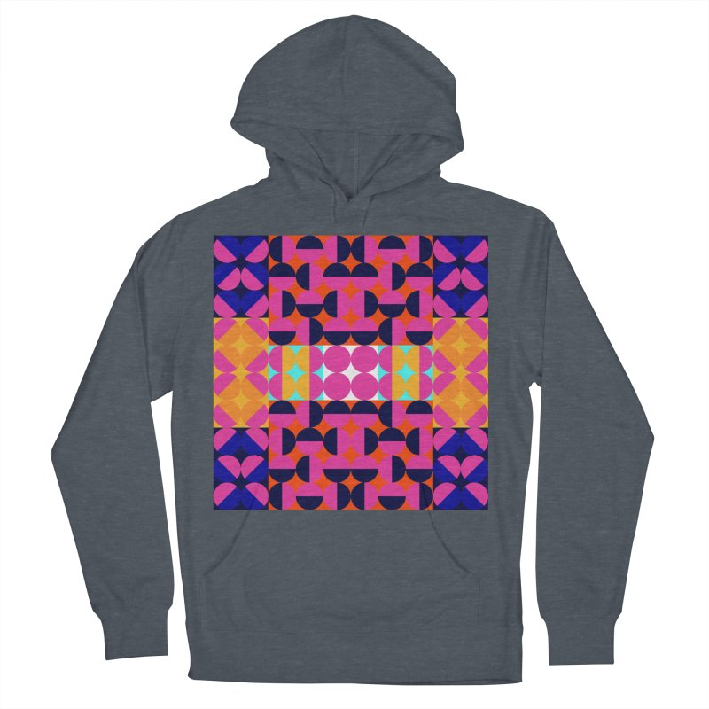 Geometric Design Series 4, Poster 7(Version 2) Women's French Terry Pullover Hoody by Madeleine Hettich Design & Illustration