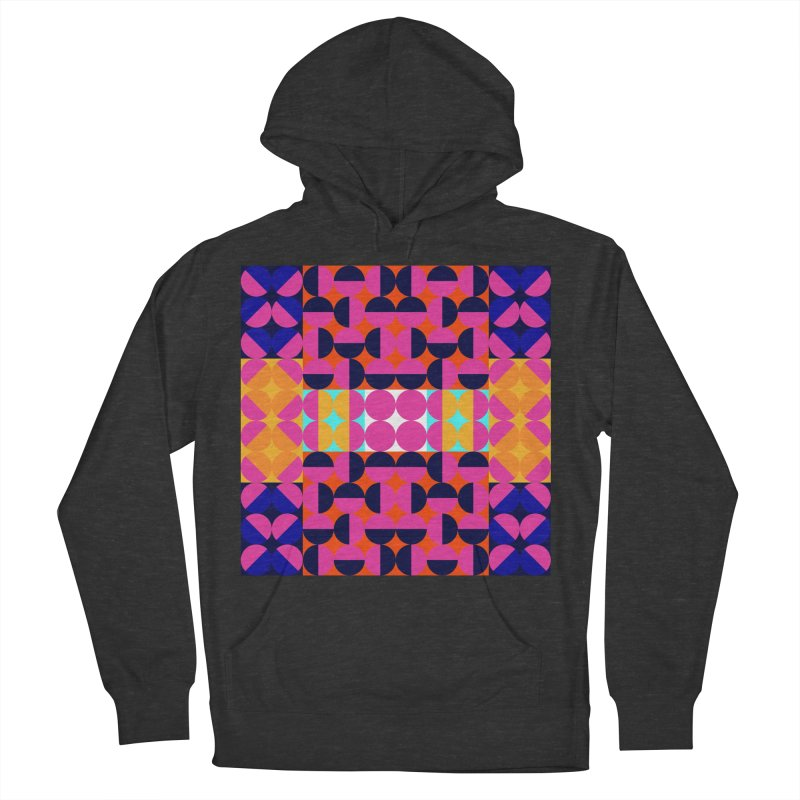 Geometric Design Series 4, Poster 7(Version 2) Men's French Terry Pullover Hoody by Madeleine Hettich Design & Illustration