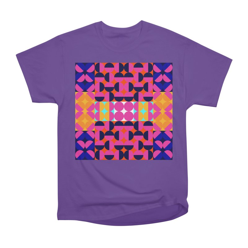 Geometric Design Series 4, Poster 7(Version 2) Women's Heavyweight Unisex T-Shirt by Madeleine Hettich Design & Illustration