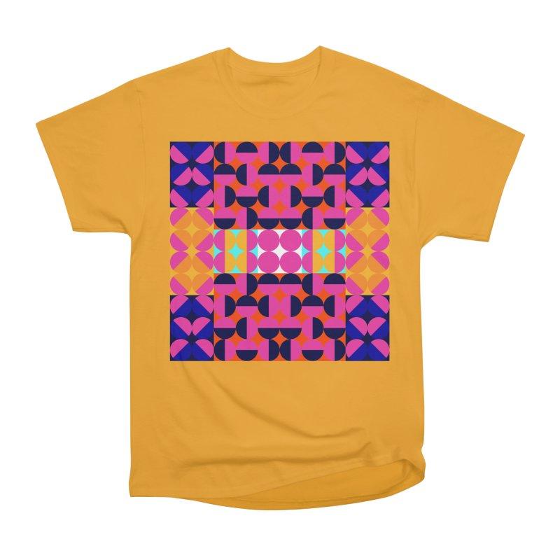 Geometric Design Series 4, Poster 7(Version 2) Women's Heavyweight Unisex T-Shirt by Madeleine Hettich Design & Illustration