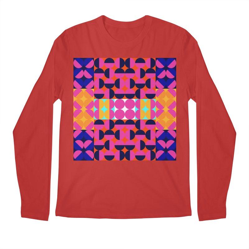 Geometric Design Series 4, Poster 7(Version 2) Men's Longsleeve T-Shirt by Madeleine Hettich Design & Illustration