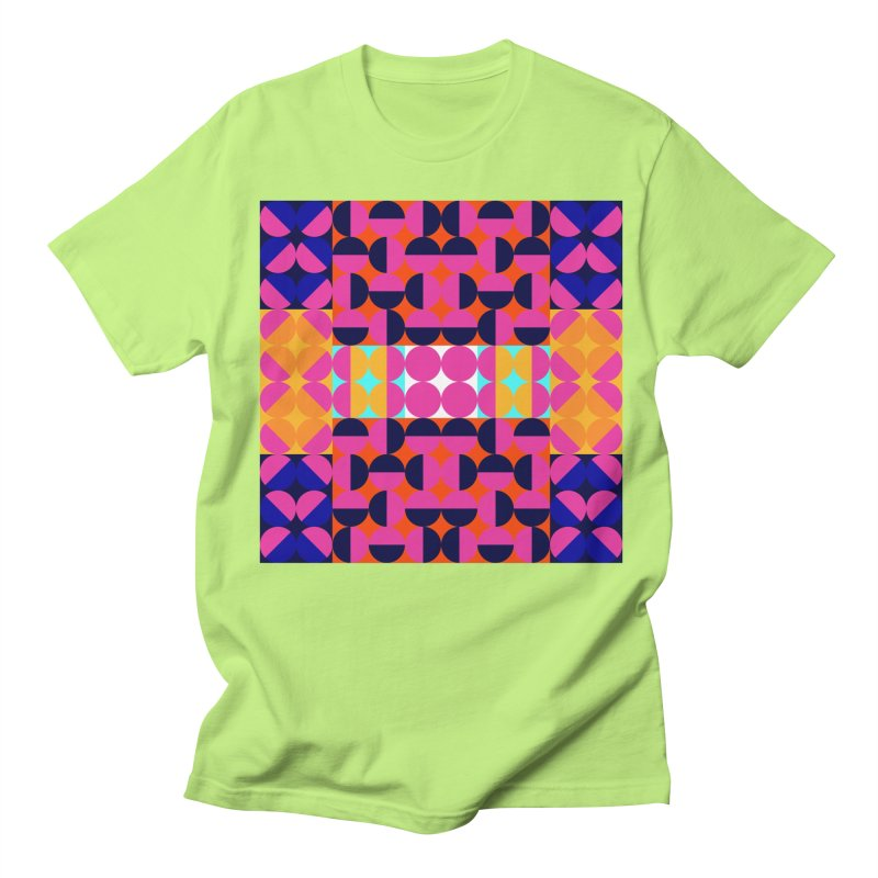 Geometric Design Series 4, Poster 7(Version 2) Women's Regular Unisex T-Shirt by Madeleine Hettich Design & Illustration