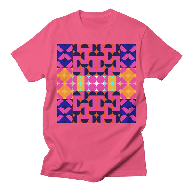 Geometric Design Series 4, Poster 7(Version 2) Men's Regular T-Shirt by Madeleine Hettich Design & Illustration