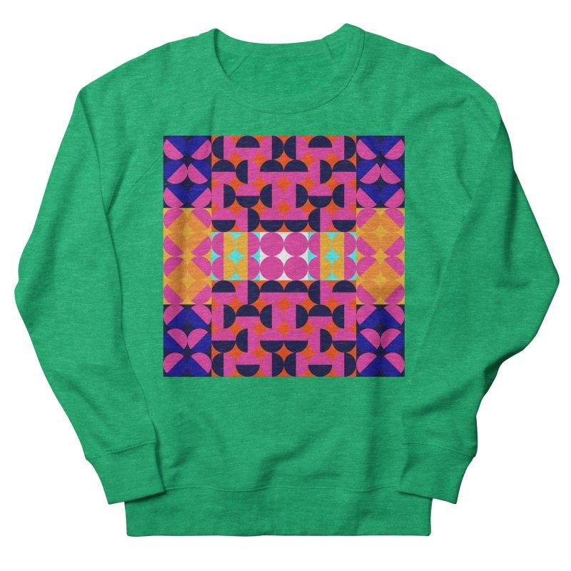Geometric Design Series 4, Poster 7(Version 2) Women's French Terry Sweatshirt by Madeleine Hettich Design & Illustration