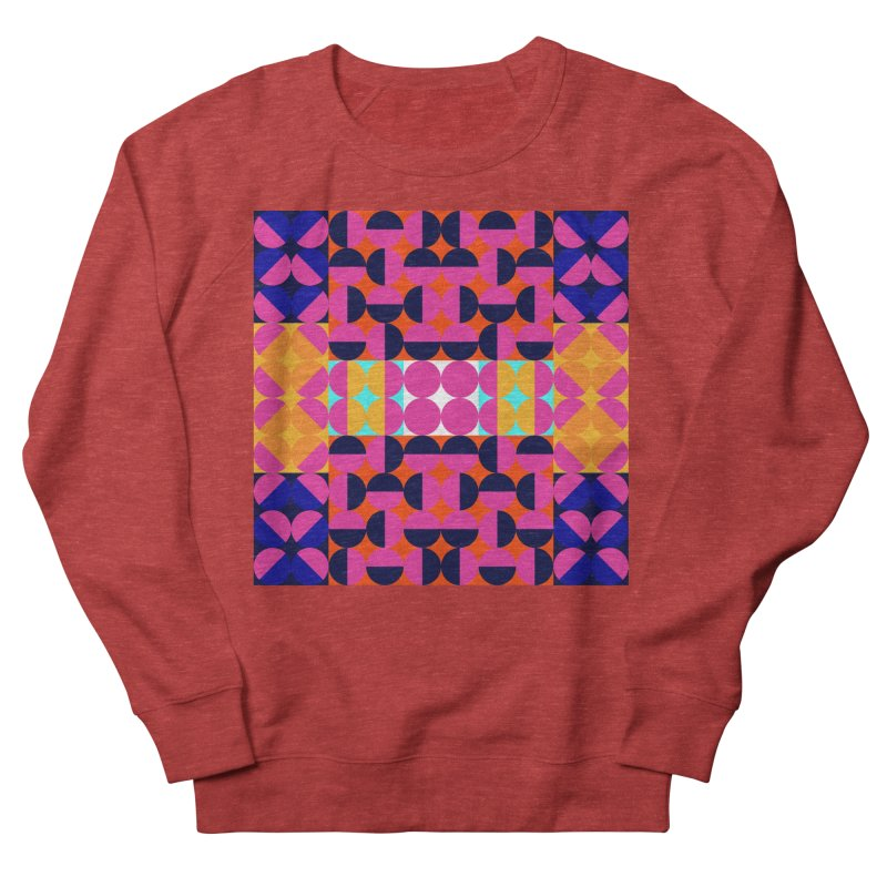 Geometric Design Series 4, Poster 7(Version 2) Women's Sweatshirt by Madeleine Hettich Design & Illustration