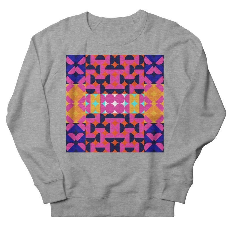 Geometric Design Series 4, Poster 7(Version 2) Men's French Terry Sweatshirt by Madeleine Hettich Design & Illustration