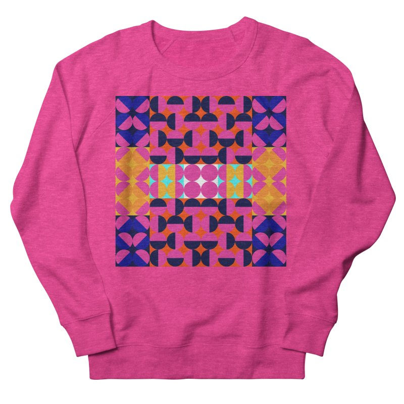 Geometric Design Series 4, Poster 7(Version 2) Men's French Terry Sweatshirt by Madeleine Hettich Design & Illustration