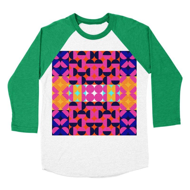 Geometric Design Series 4, Poster 7(Version 2) Men's Baseball Triblend T-Shirt by Madeleine Hettich Design & Illustration