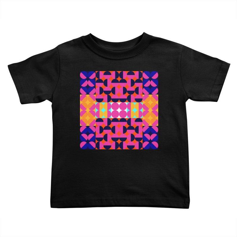 Geometric Design Series 4, Poster 7(Version 2) Kids Toddler T-Shirt by Madeleine Hettich Design & Illustration