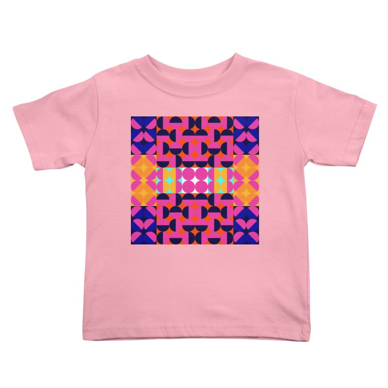 Geometric Design Series 4, Poster 7(Version 2) Kids Toddler T-Shirt by Madeleine Hettich Design & Illustration
