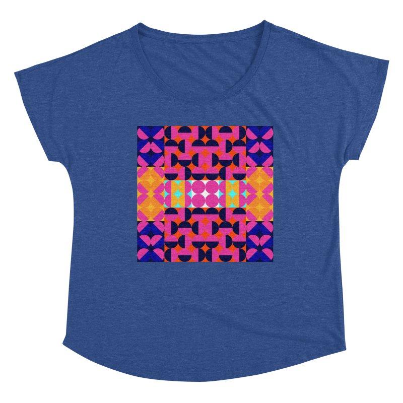 Geometric Design Series 4, Poster 7(Version 2) Women's Scoop Neck by Madeleine Hettich Design & Illustration