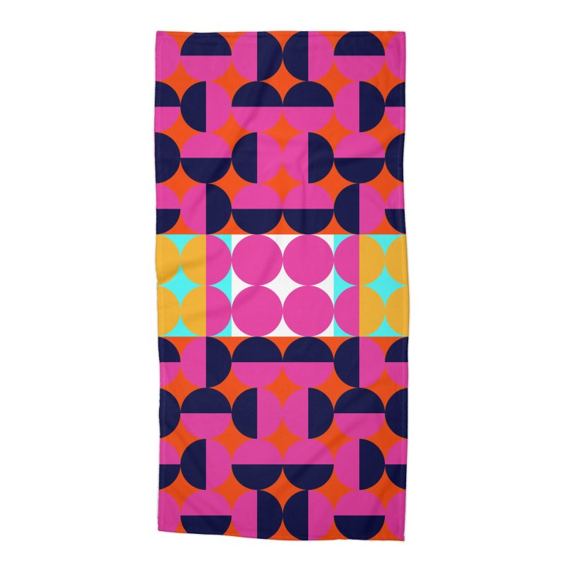 Geometric Design Series 4, Poster 7(Version 2) Accessories Beach Towel by Madeleine Hettich Design & Illustration