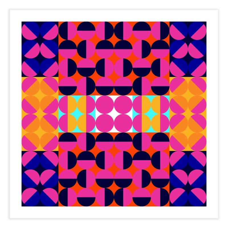 Geometric Design Series 4, Poster 7(Version 2) Home Fine Art Print by Madeleine Hettich Design & Illustration