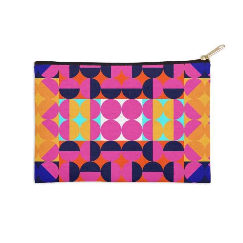 Geometric Design Series 4, Poster 7(Version 2) Accessories Zip Pouch by Madeleine Hettich Design & Illustration
