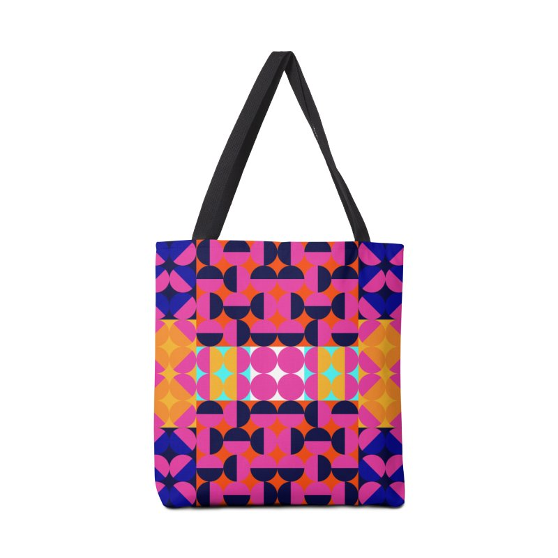 Geometric Design Series 4, Poster 7(Version 2) Accessories Bag by Madeleine Hettich Design & Illustration