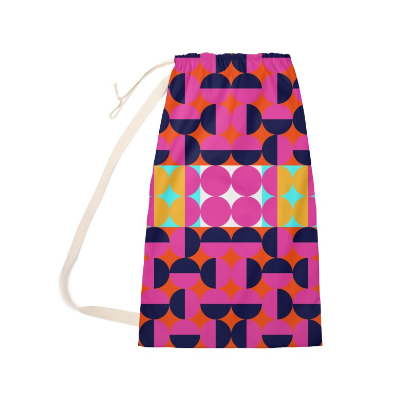 Geometric Design Series 4, Poster 7(Version 2) Accessories Laundry Bag Bag by Madeleine Hettich Design & Illustration