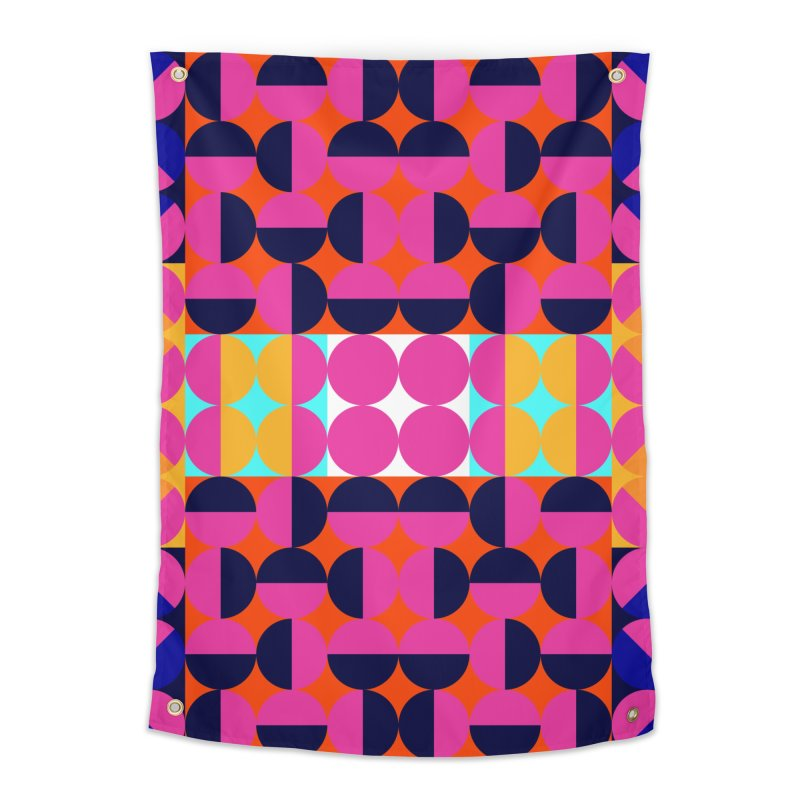 Geometric Design Series 4, Poster 7(Version 2) Home Tapestry by Madeleine Hettich Design & Illustration
