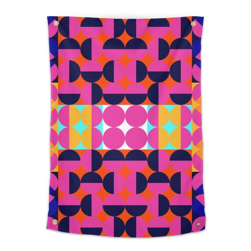 Geometric Design Series 4, Poster 7(Version 2) Home Tapestry by Madeleine Hettich Design & Illustration