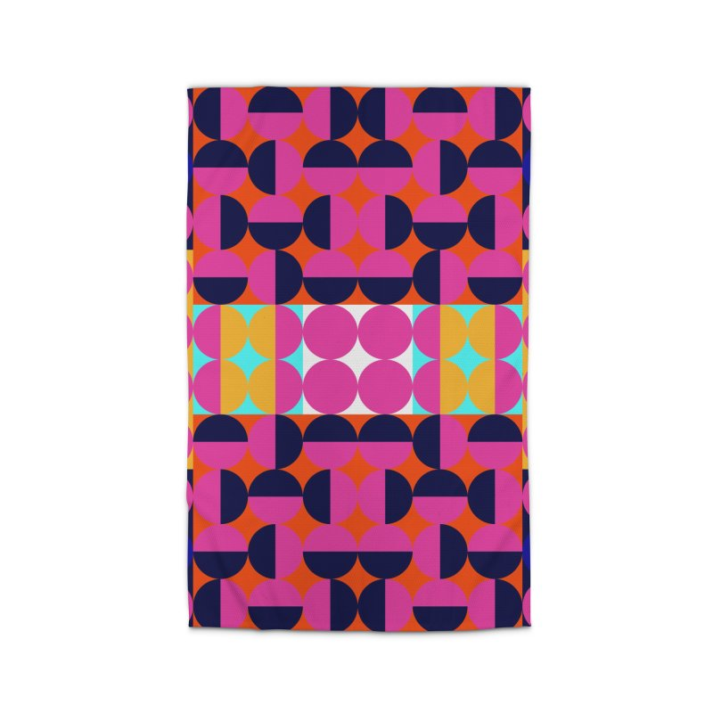Geometric Design Series 4, Poster 7(Version 2) Home Rug by Madeleine Hettich Design & Illustration