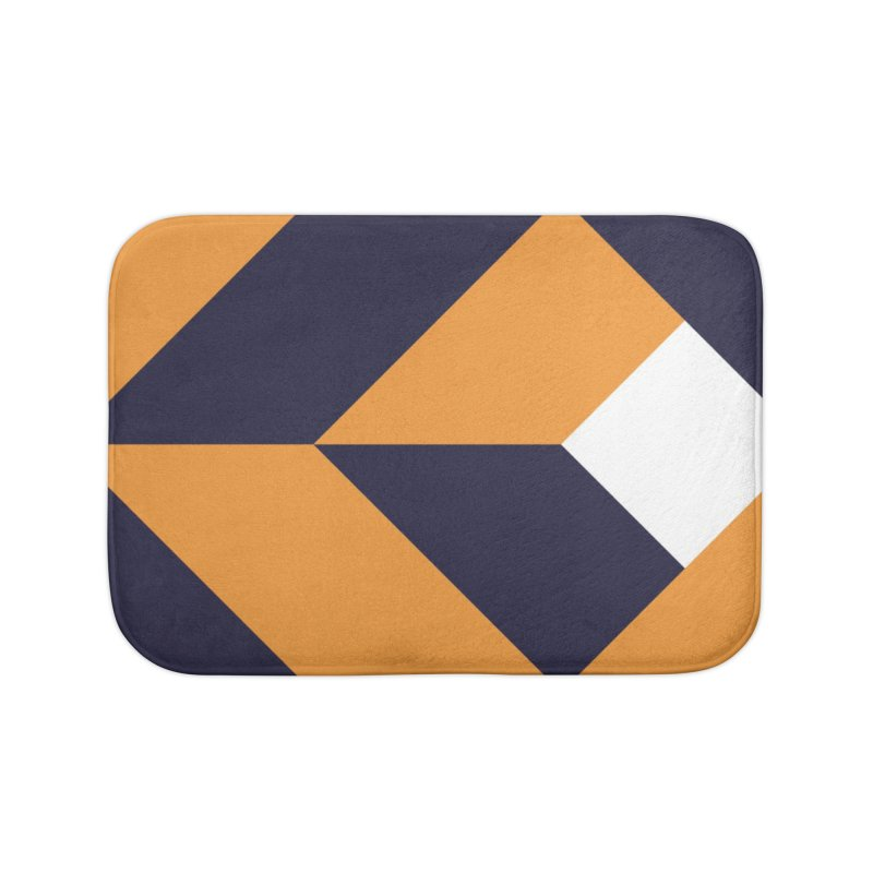 Geometric Design Series 4, Poster 6 Home Bath Mat by Madeleine Hettich Design & Illustration