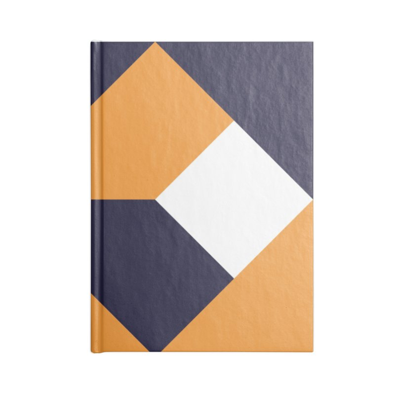 Geometric Design Series 4, Poster 6 Accessories Lined Journal Notebook by Madeleine Hettich Design & Illustration